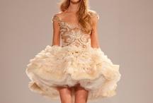 Short Wedding Dresses / www.katherinecourtney.com