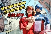 Superhero Weddings / www.katherinecourtney.com