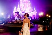 Disney Land Weddings / www.katherinecourtney.com