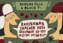 Dublin Flea / Poster design for the Dublin Flea Market