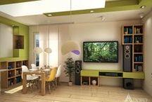 Living room / Всекидневна / Living room interior design Интериорн дизайн на всекидневни