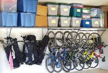 Garage / Garage organization and inspirational ideas.