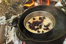 Camp Recipes / Recipes to take with you on your next camping trip. But some of them look too good wait, you'll just have to try them at home.