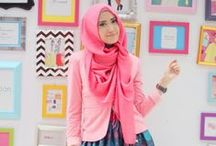 Hijab Style / Ya...this is the hijab style what i like :D
