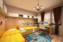 Kids Bedroom / Детска стая / Interior design for Kids bedroom / Интериорен дизайн на детска стая
