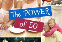 The Power of 50 / Connect with women over 50 and find empowerment, motivation, and inspiration as we celebrate this glorious stage of our lives! Rekindle your passion. Ignite your spirit. Rediscover your purpose and meaning in the life you were born to live!  Let's connect on my website at www.DrJulieConnor.com