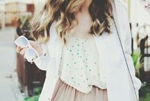 Summer Style / Spring and Summer Fashion Inspiration