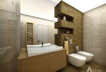 Bathroom  / Баня / Interior Design of Bathrooms / Интериорен дизайн на баня