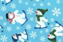 Christmas Fabrics / Christmas fabric