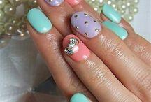 Nails / Adorable nails  / by Rebekah Dyslin