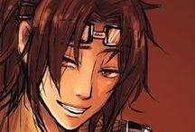SnK Hanji / Did you say TITANS?!!!