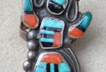 Genuine Native American jewelry. / Real handmade jewelry from individual Navajo, Hopi, Santo Domingo, and Yaqui Native American craftsmen.