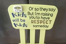 For My Children. / For my children as they grow up. Parenting skills. Nursery and bedroom ideas.
