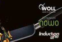 Sartén de Titanio Woll / Sartén de titanio Woll fabricada en aluminio fundido de gran espesor (8mm.) indeformable y con antiadherente de titanio. Más de 3300 horas. No se pega nada, alta resistencia y gracias a su mango extraíble puede ir al horno y ser utilizada como bandeja o cazuela.