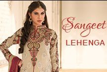 Sangeet Lehenga Choli