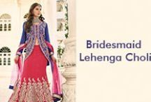 Bridesmaid Lehenga Choli