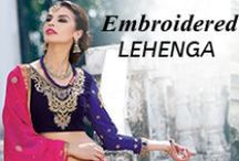 Embroidered Lehenga Choli‎