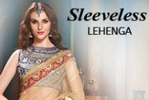 Sleeveless Lehenga Choli