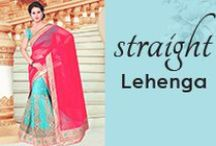 Straight Lehenga Choli
