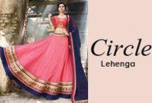 Circle Lehenga Choli