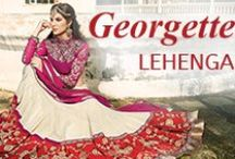 Georgette Lehenga Choli