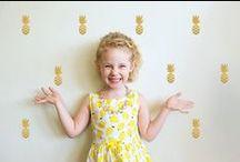 Lieffeling moodboard summer style / Kinderkamer accessoires en lifestyle voor kids