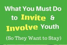Youth & Youth Leadership / I've prepared youth to be leaders and adults to be mentors and role models for more than 30+ years. Use these tips to invite and involve youth in your community. Equip youth with tools to be leaders. Youth learn leadership skills through opportunities to be leaders. More at www.DrJulieConnor.com