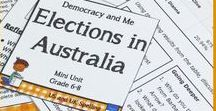 Government, Civics and Democracy - Classroom Ideas for Teachers in Australia and Around the World / Teaching ideas, resources and lessons covering government, citizenship, civics and democracy.