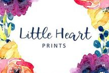 Little Heart Prints / Printable Art for the Heart and the Home