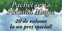 Seria Portalul Magic / Jack și sora lui mai mică, Annie, călătoresc în timp și spațiu dintr-o căsuță secretă, plină cu cărți, descoperită într-un copac fabulos. Fiecare carte deschisă îi face să treacă într-o altă lume, ca printr-un portal magic, oferindu-le astfel prilejul să devină ei însiși personajele unor aventuri pe parcursul cărora vor întâlni creaturi uimitoare, personaje și realități din epoci istorice diferite.