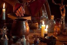 Of Plant, Potion, Candle and Book / Herbs, Plants, Potions, Brews, Oils, Alchemy, Apothecary, Bottles, Books, Candles, Cauldrons and all sorts of hedge witchery...