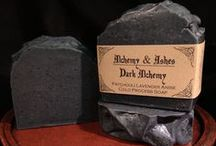 Alchemy & Ashes ~ Ghosts of Products Past / Graveyard of past products conjured by The Madame of Alchemy & Ashes