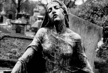 Hallows and Haunts / Creepy and macabre, yet beautiful works of cemetery art - headstones, mausoleums, memorials, and the like.