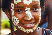 Sakalava women / Sakalava is the largest ethnic group in Madagascar. It extends from Nosy Be in the north west to Morondava in the south west.