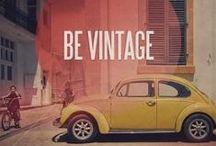 Vintage Love / Vintage History and Inspiration.