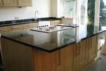 Granite Worktops / We specialise in supplying and fitting beautiful granite worktops and quartz worktops at affordable prices throughout London, Kent, Essex, Sussex and the UK.