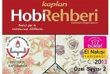 Hobi Rehberi / Nakışla ilgili açıklamalı kitap.