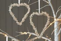 Weddings / Some wedding loveliness: plants, hearts, table centrepieces, natural confetti and more