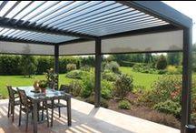 Pergolas Diruy / Profitez de votre terrasse en été comme en hiver
