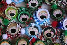 An Upcycled Christmas / Christmas Crafts and Decorations, DIY crafts, upcycling, recycling