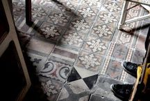 Floors and Vintage tiles