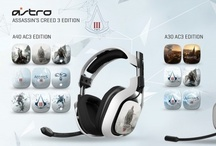 Assassins Creed 3 - 2013 Editions / ASTRO Gaming, creators of premium video gaming equipment for professional gamers, and Ubisoft, the industry leading publishers and producers of Assassin's Creed 3, have teamed up to release three limited edition AC3 series of Speaker Tags for the A30 & A40 Audio Systems.