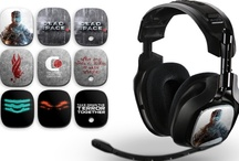 Dead Space 3 Editions  / As Dead Space 3 thrusts us back into the world of space terror and spindly necromoprhs, we figured we might as well look good while facing death on no certain terms. So here, we bring you the Dead Space 3 edition A40 Audio System. ASTRO's updated headphone specs and user-controlled equalization modes on the updated Mixamp Pro gives you the kind of auditory precision that can makes palms sweat. Maybe just a little bit. No big deal.