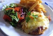 Chicken Parma / Chicken parmas from around Australia