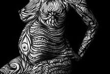 Body Art / Inspiring Body Art from all around the world inspiring Tribu.co.uk in our jewellery design.