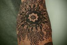 tattoo / henna / other ink on skin...