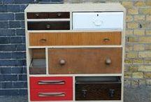 Recliclado / Renovar, customizar, transformar...Dale un lavado de cara a tus antiguos muebles y decora tu hogar de la forma más original!
