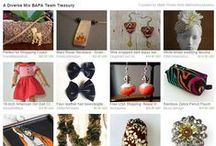 BAPA Treasuries / Treasuries of BAPA team members. We are amazing! / by Bay Area Peninsula Artists Etsy Team