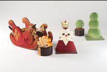 Noël 2014 - Les Jardins à la Francaise / Cette année, Le Lautrec vous propose de flâner dans les jardins à la française pour découvrir son fastueux assortiment de Noël. Père Noël royal et traîneaux majestueux se mettent en scène pour vous offrir de délicates gourmandises dignes des grands rois du XVIIe siècle !