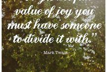 Mark Twain's quotes / Inspiring quotes